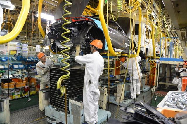 ホンダ S660 生産ライン《撮影 小松哲也》