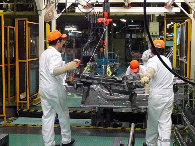 八千代工業 S660 車体骨格組立用のインナー治具《撮影 池原照雄》