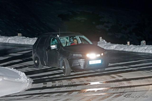 セアト SUV スクープ写真《APOLLO NEWS SERVICE》