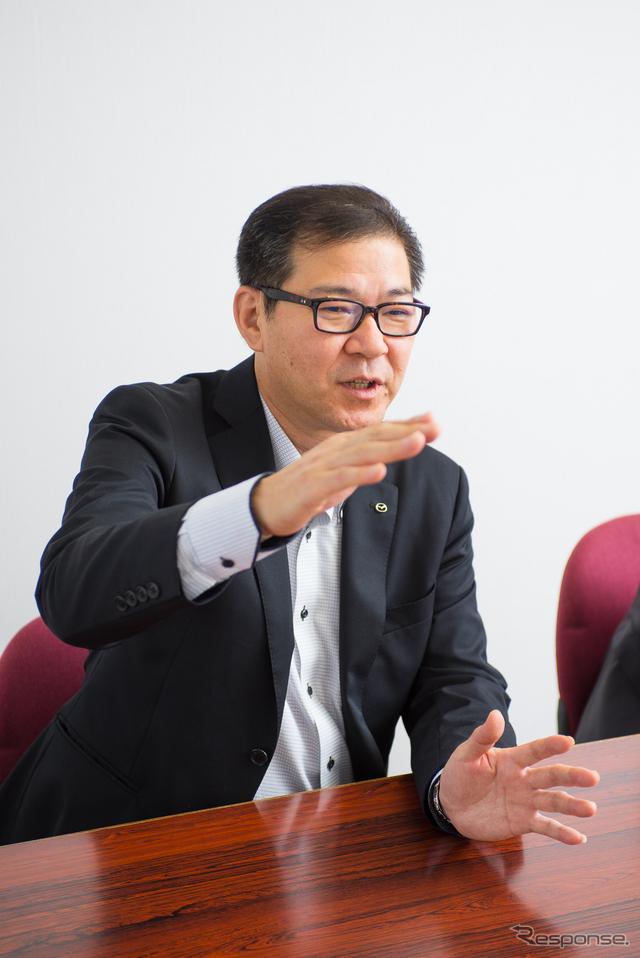 冨山道雄 開発主査《撮影 太宰吉崇》