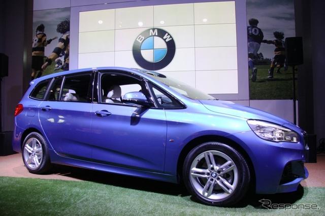 BMW 2シリーズ グランツアラー《撮影 内田俊一》