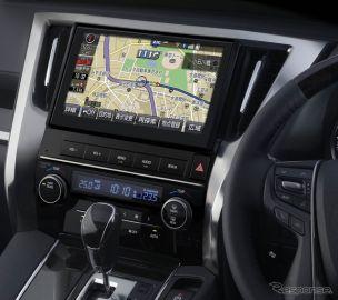 トヨタ、 アルファード / ヴェルファイア 専用のT-Connectナビ発売…初の10インチ大画面