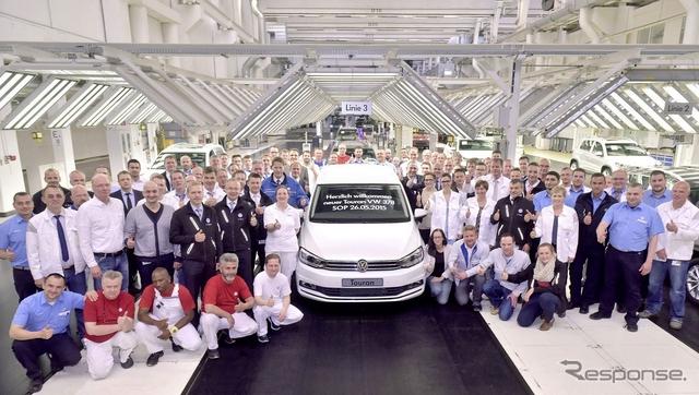 ドイツで生産が開始された新型フォルクスワーゲン トゥーラン
