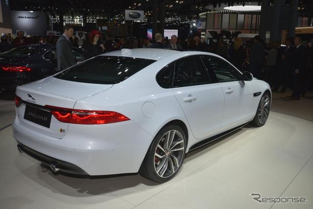 ジャガー XF 新型(ニューヨークモーターショー15)