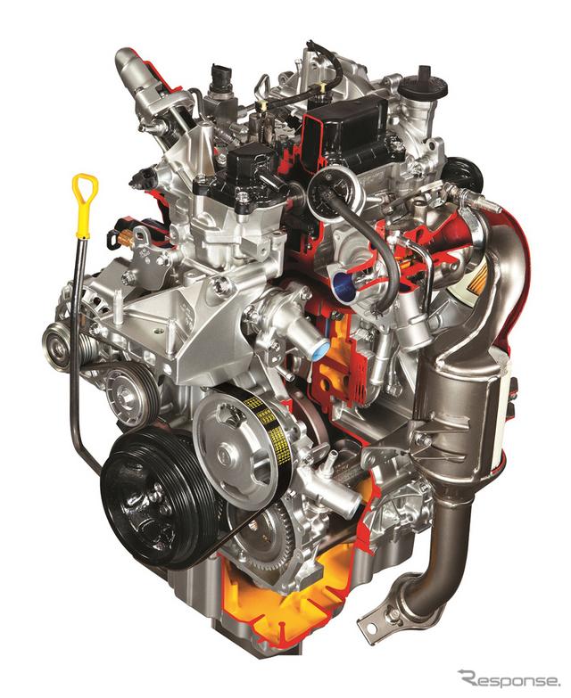 スズキ E08A型ディーゼルエンジン