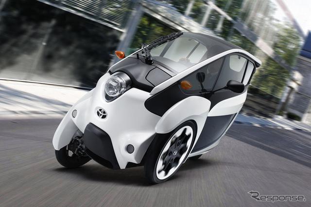 トヨタ i-ROAD(参考画像)
