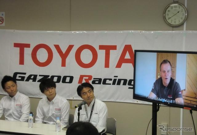 会見ではトミ・マキネンがビデオメッセージで選考理由を語った。