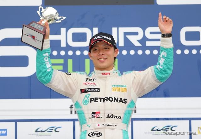 勝田貴元は全日本F3選手権で、13年シリーズ2位、14年シリーズ4位という上位成績を有する。写真:TOYOTA(2014年シーズン)
