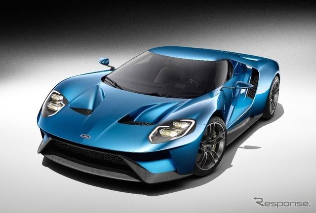 フォード GT 新型(参考画像)