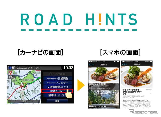 ROAD H!NTSの画面イメージ