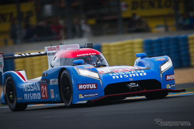 #21 Nissan GT-R LM NISMO C《画像 Getty Images》