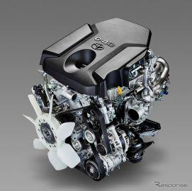 トヨタ自動車、新型2.8リットル直噴ターボディーゼルエンジンを開発
