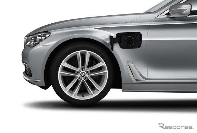 BMW 7シリーズ 新型に設定されるPHVの740Le
