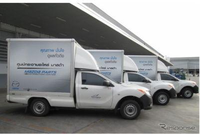 郵船ロジスティクス、タイでマツダと自動車用補修部品の合弁物流サービス事業を本格稼動