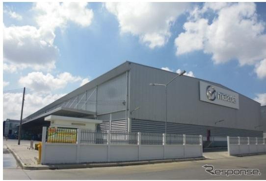 マツダロジスティクス&ユウセン(アジア)のバンコク近郊バンナー地区の倉庫