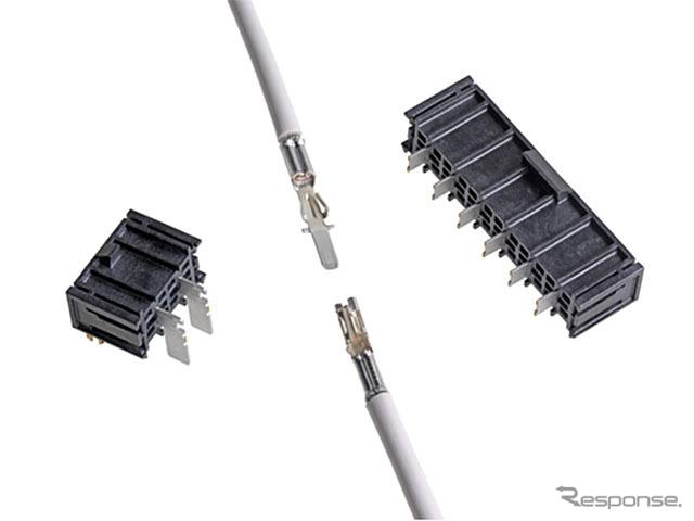 日本モレックス 電源用コネクターシステム Super Sabre