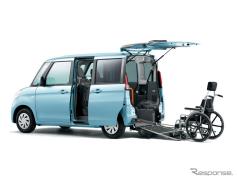 スズキ エブリイ / エブリイワゴン 、新型に車いす移動車