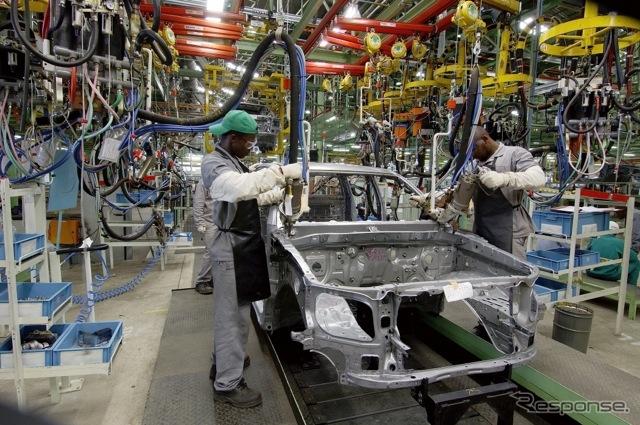 トヨタ、南アフリカ工場(資料画像)