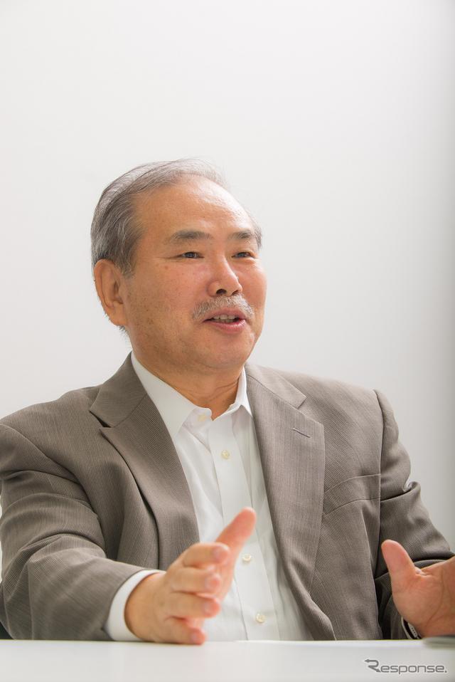 自動車評論家の松下宏氏《撮影 太宰吉崇》