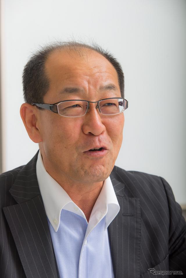 トヨタ自動車 製品企画本部 の田中義和主査《撮影 太宰吉崇》