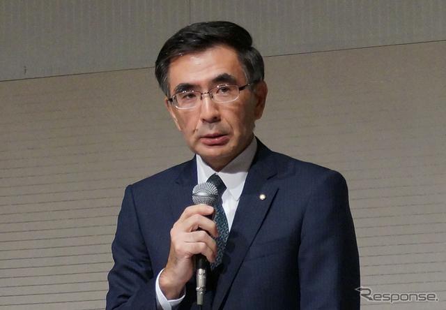 スズキ、鈴木俊宏副社長が社長兼COO(経営執行責任者)に昇格(30日)《撮影 関航介》