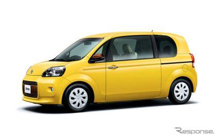トヨタ ポルテ / スペイド、新エンジン搭載で22.2km/Lの低燃費を達成