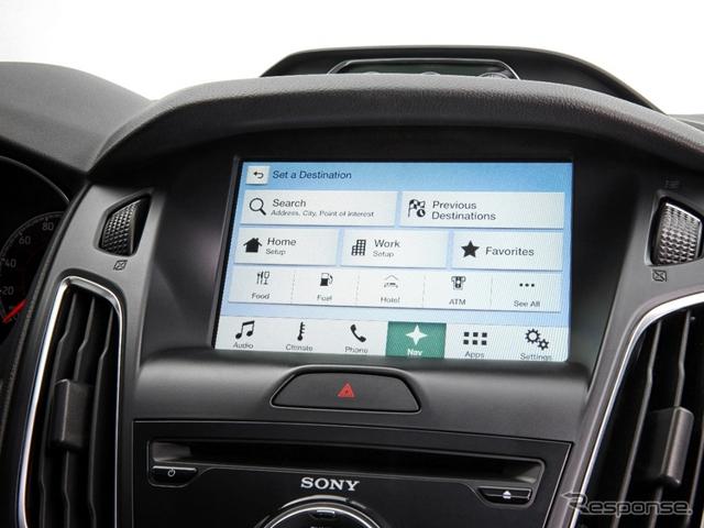 フォード SYNC 3(参考画像)