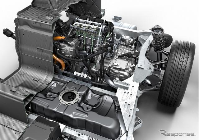 BMW i8のパワートレイン