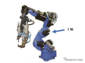 安川電機、新形7軸スポット溶接ロボットを開発…自動車ボディに特化