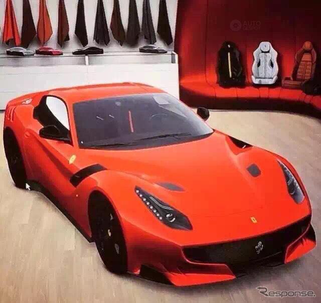 フェラーリF12 GTO スクープ写真《APOLLO NEWS SERVICE》