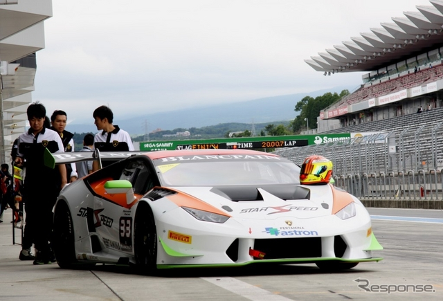 ランボルギーニ・ブランパン・スーパートロフェオ・アジアシリーズ@富士スピードウエイ《撮影 内田俊一》