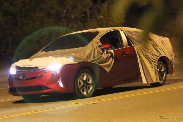 トヨタ プリウス 新型《Photo : Brian Williams/SpiedBilde》
