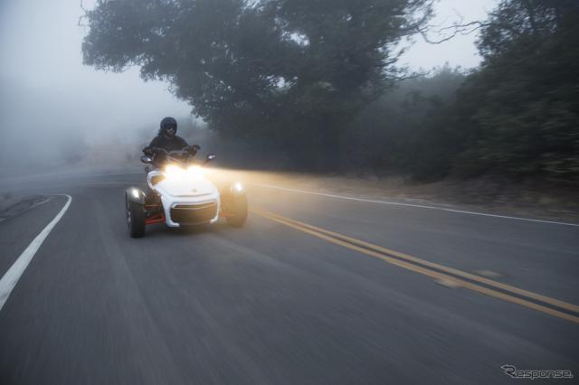 Can-Am Spyder F3《画像提供 BRPジャパン》