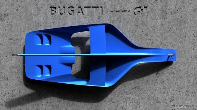 ブガッティ ビジョン・グランツーリスモの予告イメージ