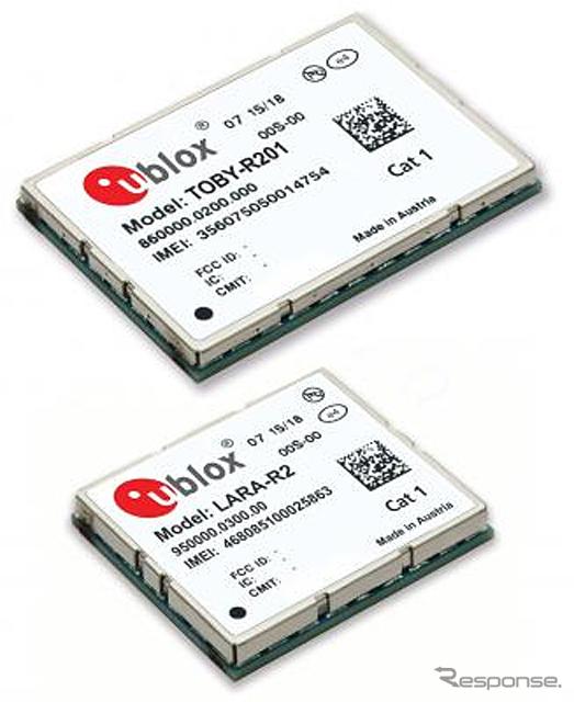 ユーブロックス TOBY-R201/LARA-R200