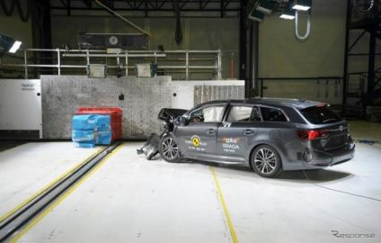 【ユーロNCAP】トヨタ アベンシス 改良新型、最高の5つ星