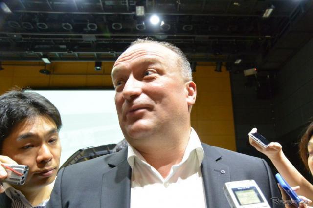 フォルクスワーゲングループジャパン スヴェン・シュタイン 代表取締役《撮影 小松哲也》