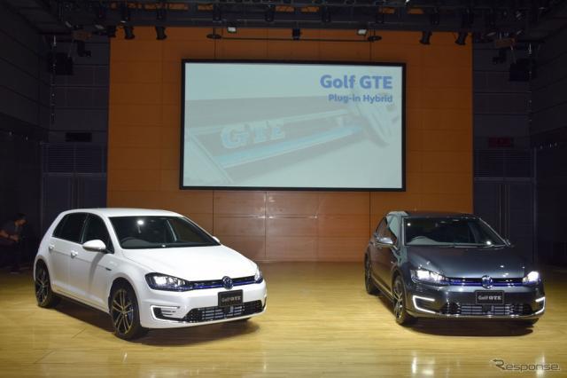 ゴルフ GTE 発表会《撮影 関 航介》