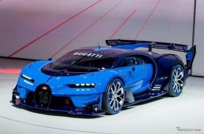 【フランクフルトモーターショー15】これが未来のブガッティ…ビジョン GT、実車を公開