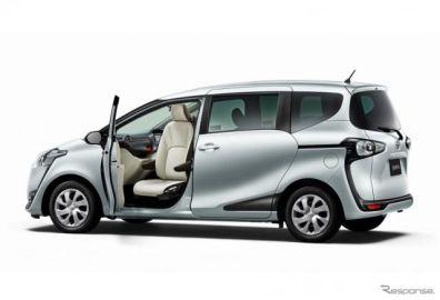 トヨタ、シエンタ などに助手席回転チルトシート車を新設定