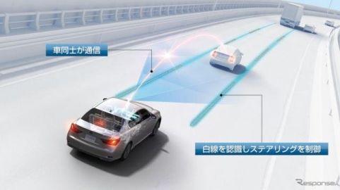 自動運転技術は、ブレーキ制御と車線変更支援...太田国交相