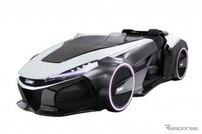 【東京モーターショー15】三菱電機、次世代運転支援技術を搭載したコンセプトカーを出展