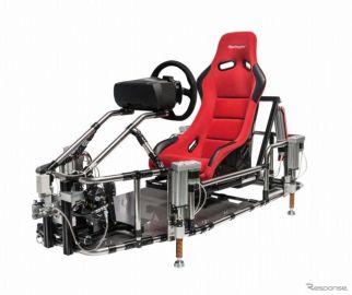 【東京モーターショー15】グランツーリスモ6、体感型シミュレーターによるデモプレイを世界初公開