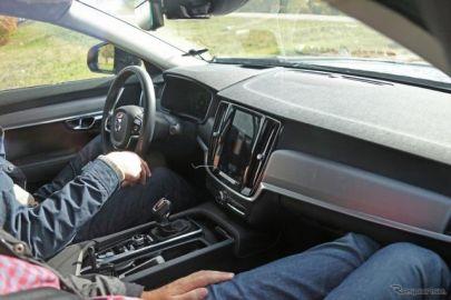 ボルボ S80 後継モデル、進化したインパネ初公開!