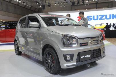 【東京モーターショー15】アルトワークス が5速MTで復活…スズキ、4モデルを世界初公開