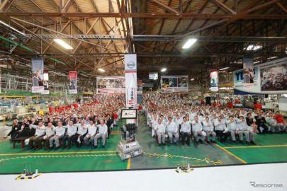 日産 メキシコ工場、エンジン累計生産1100万基…33年で到達