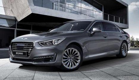 【デトロイトモーターショー16】ヒュンダイの高級車ブランド、ジェネシス …G90 初公開へ