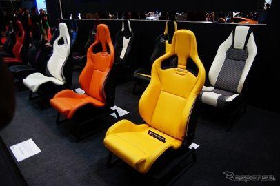 【東京オートサロン16】レカロ、カラーバリエーションタイプのシートを展示