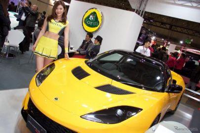 【東京オートサロン16】 ロータス エヴォーラ 400 が関東で初お披露目、注目を集める