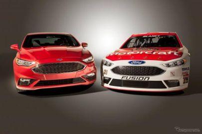フォード、2016年型NASCARを発表…最新 フュージョン のイメージ反映